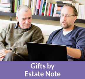Gifts by Estate Note Rollover